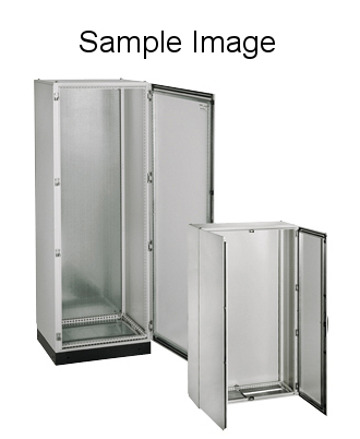 Rozvaděč skříňový KS, 2000x600x400, jednokř. dveře, RAL 7035