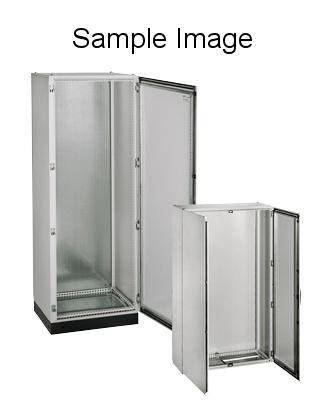 Rozvaděč skříňový KS, 2000x800x300, jednokř. dveře, RAL 7035